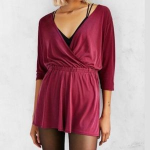 Urban Outfitters Short Jumper Romper Small Stretch